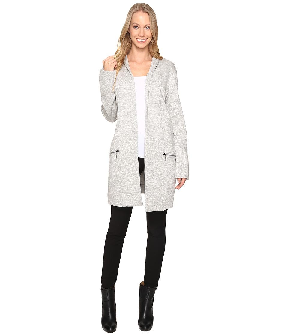NIC+ZOE - Modernist Trench Coat (Heather Grey) Women's Coat