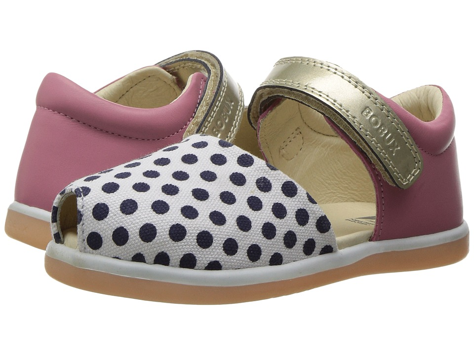 Bobux Kids - I-Walk Classic Twist (Toddler) (Peony/Spots) Girl's Shoes