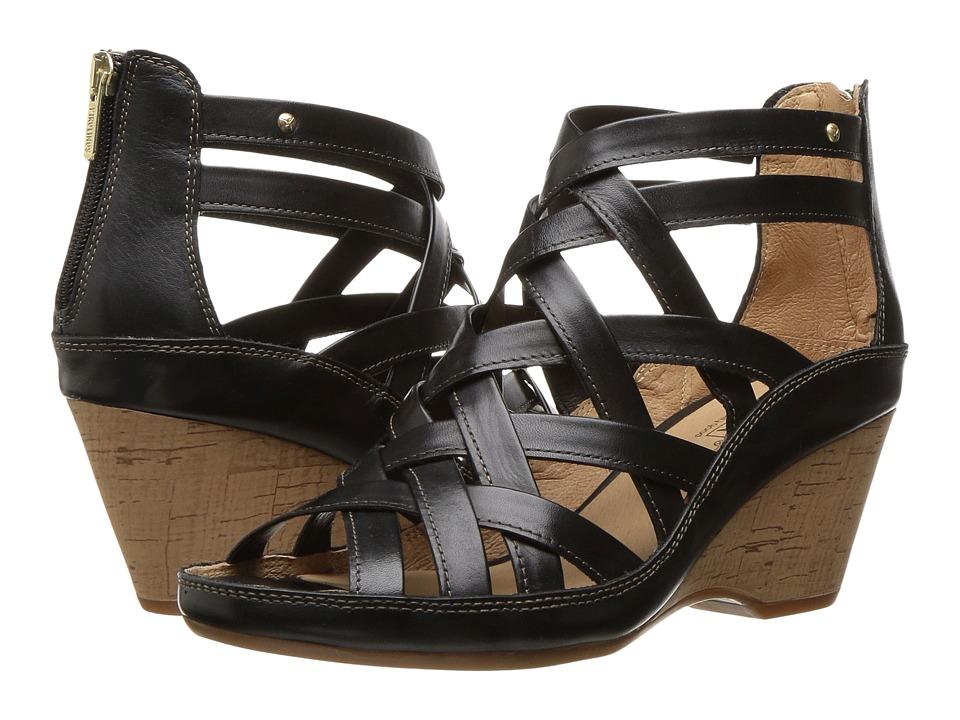 Pikolinos - Capri W8F-8847 (Black) Women's Shoes