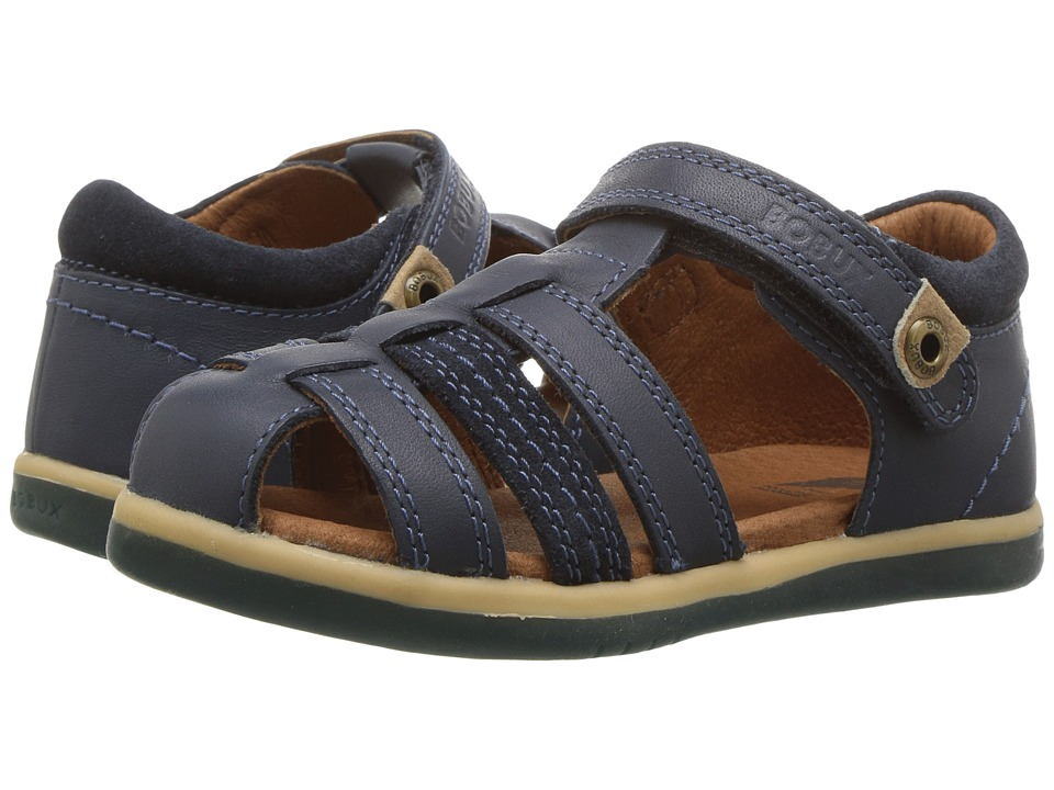 Bobux Kids - I-Walk Classic Roamer (Toddler) (Navy) Boy's Shoes