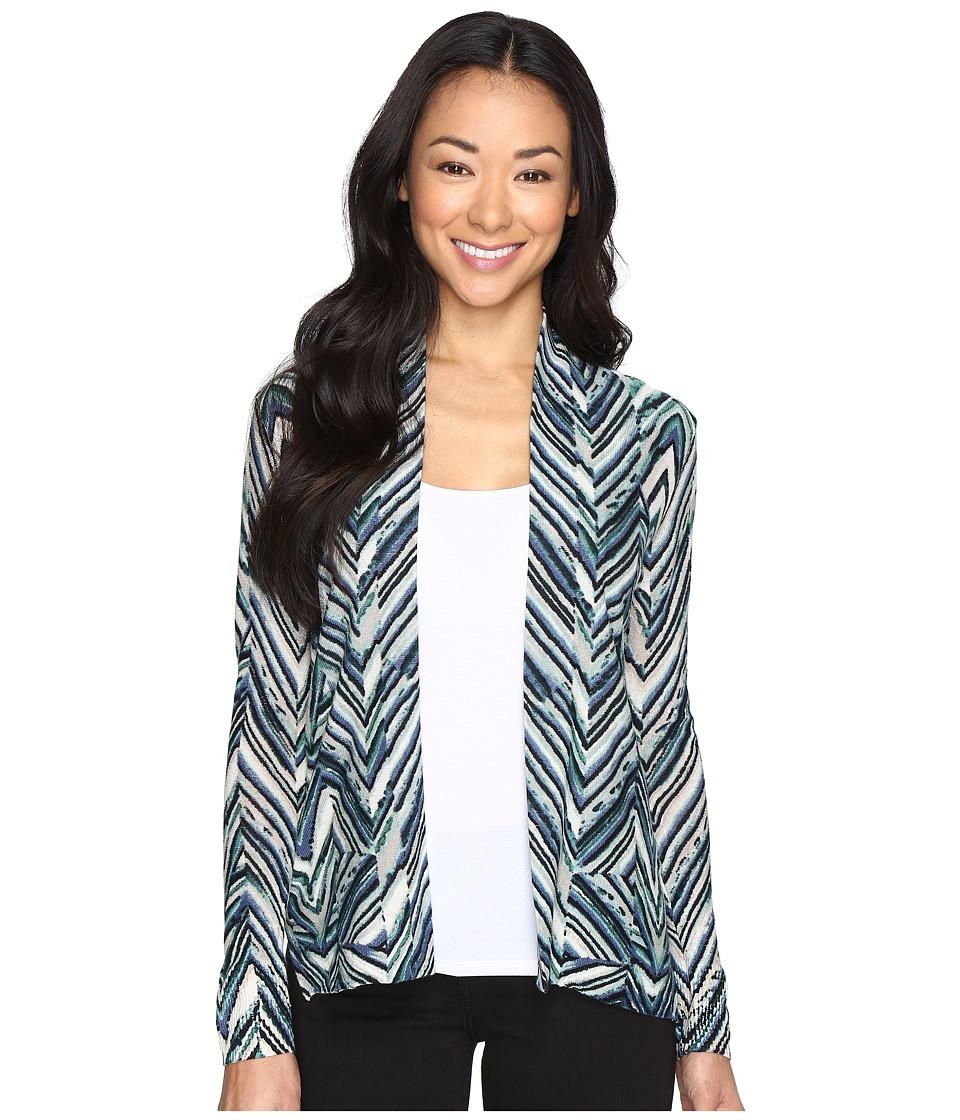 NIC+ZOE - Petite Illusion Cardy (Multi) Women's Sweater
