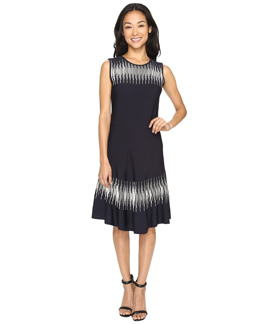 NIC+ZOE - Breaking Waves Twirl Dress (Multi) Women's Dress