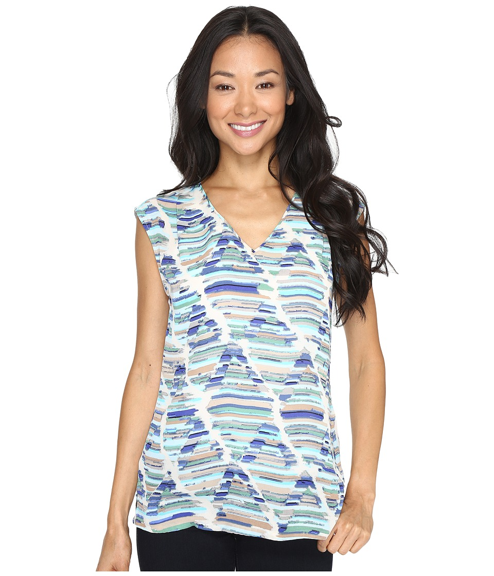 NIC+ZOE - Diamond Streaks Layer (Multi) Women's Clothing