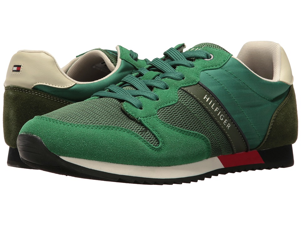 Tommy Hilfiger - Forester (Dark Green) Men's Shoes