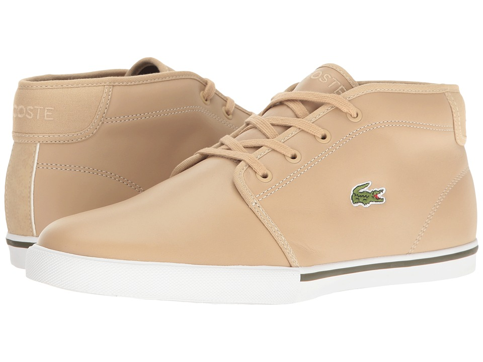 Lacoste - Ampthill 117 1 Cam (Natural) Men's Shoes