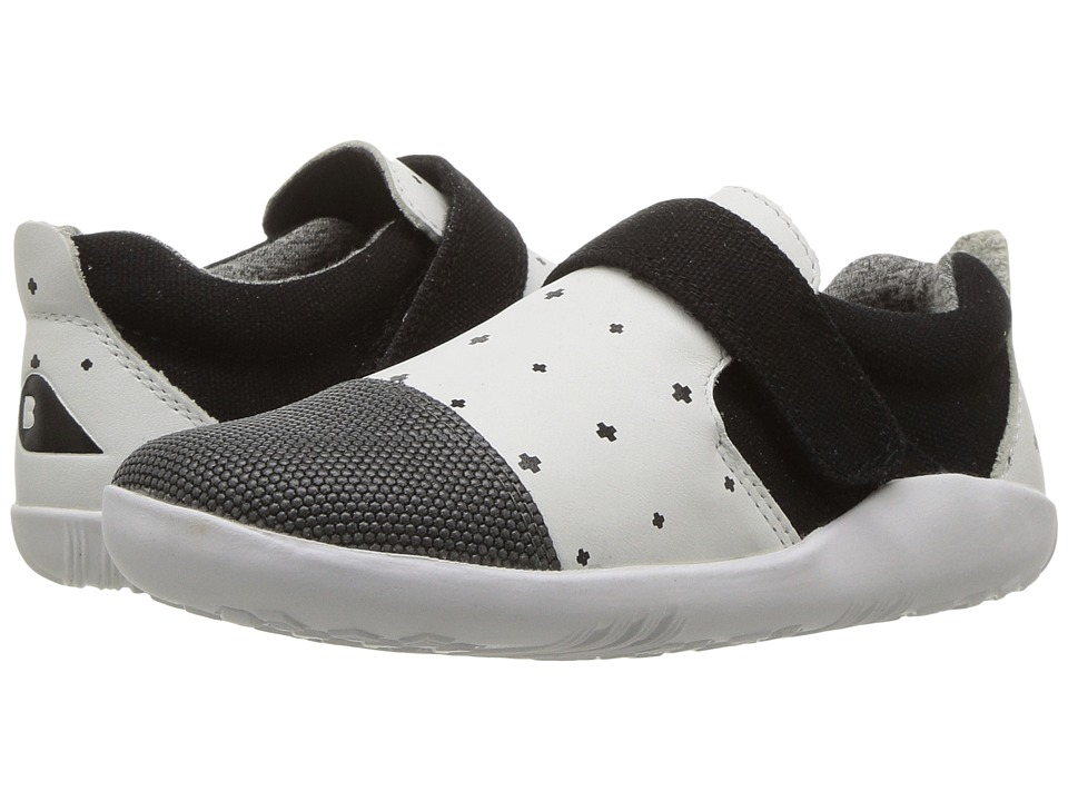 Bobux Kids - I-Walk Play Aktiv (Toddler) (White/Black Plus) Kid's Shoes