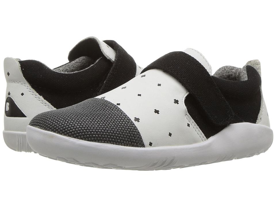 Bobux Kids - I-Walk Play Aktiv (Toddler) (White/Black Plus) Kid's Shoes