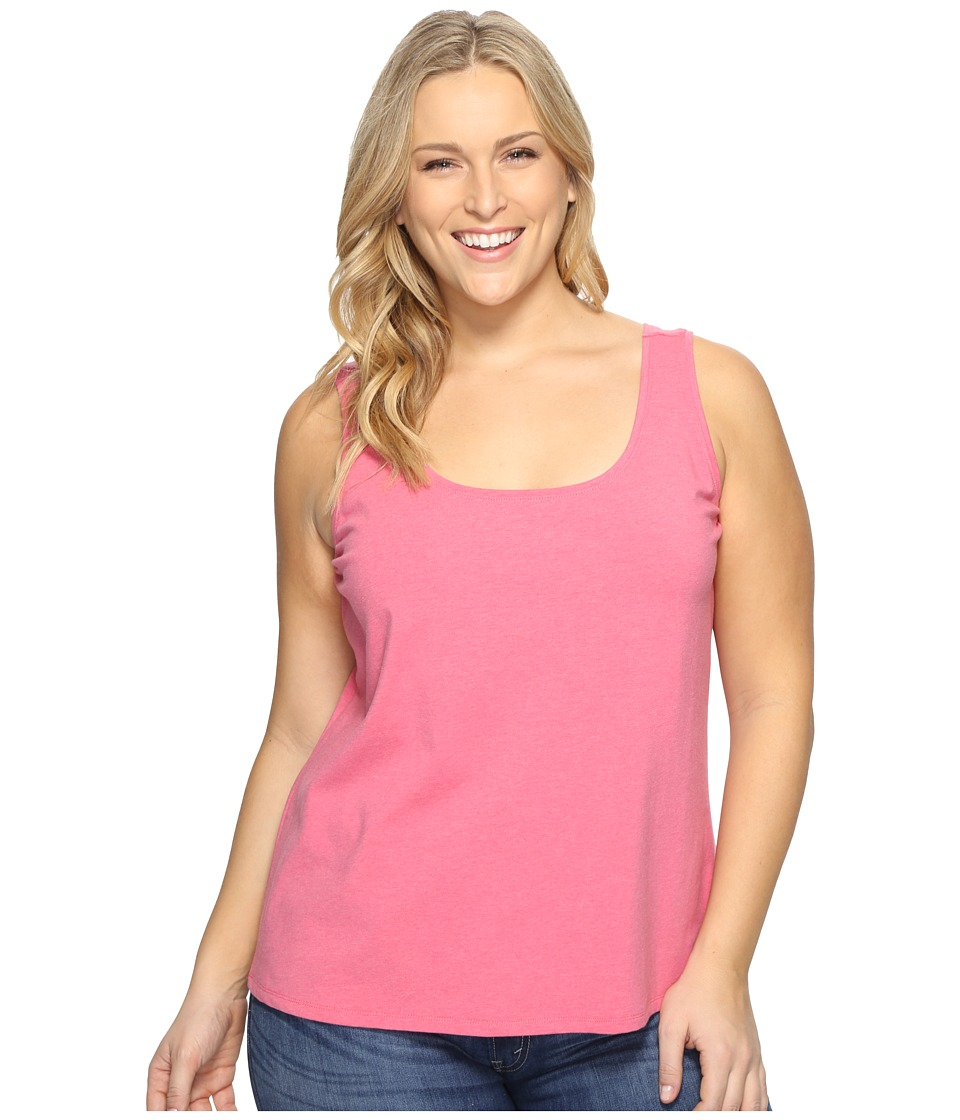 NIC+ZOE - Plus Size Perfect Tank (French Rose) Women's Sleeveless