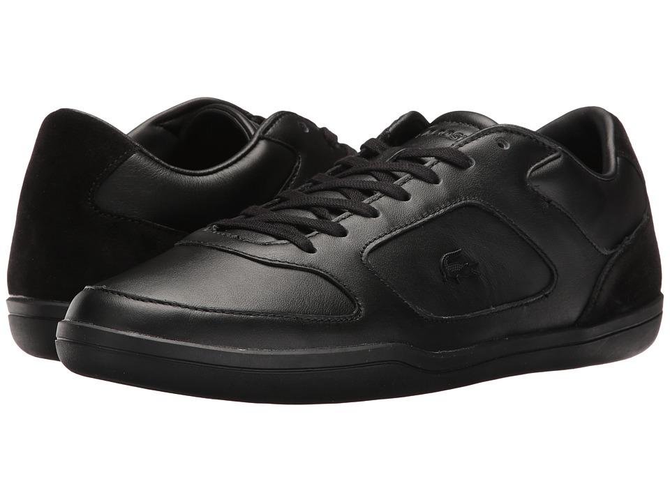 Lacoste - Court-Minimal 117 1 Cam (Black) Men's Shoes