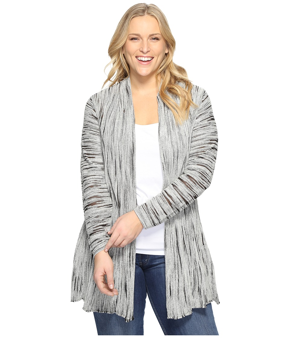 NIC+ZOE - Plus Size Light Beam Cardy (Multi) Women's Sweater