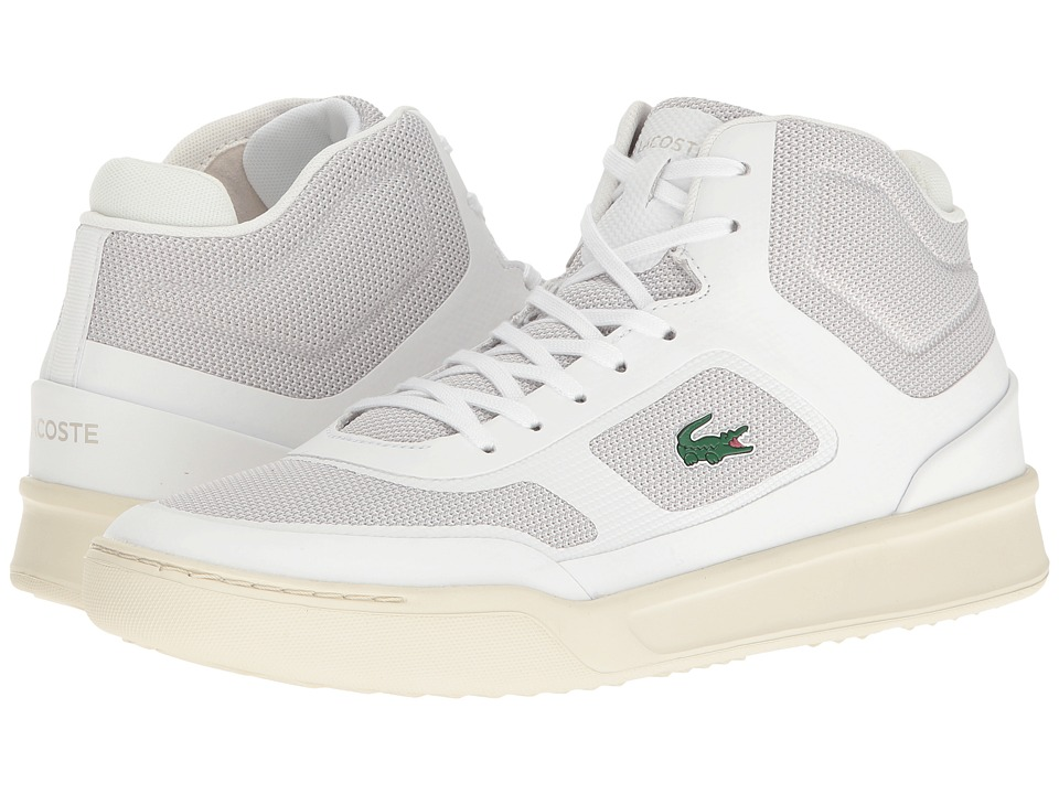 Lacoste Explorateur Mid SPT 117 1 Cam (White) Men