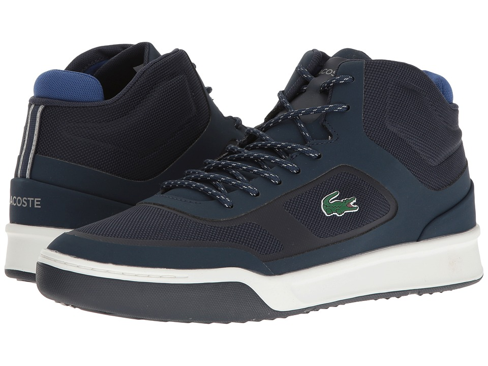 Lacoste - Explorateur SPT Mid 117 2 Cam (Navy) Men's Shoes