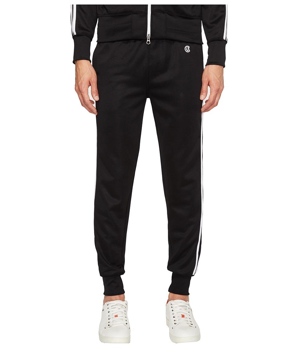Todd Snyder + Champion - Double Stripe Track Pants (Black) Men's Casual Pants