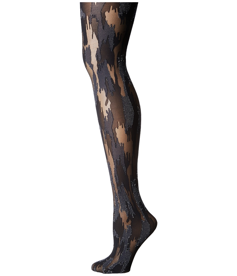Wolford - Camouflage Tights (Black/Silver) Hose