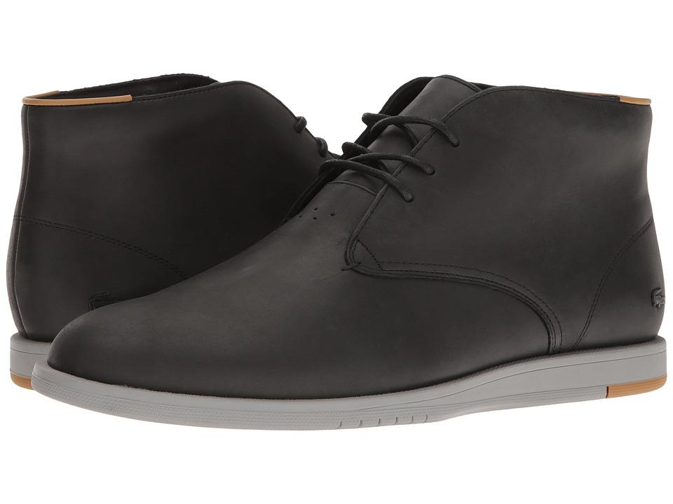 Lacoste - Laccord Chukka 117 1 Cam (Black) Men's Shoes