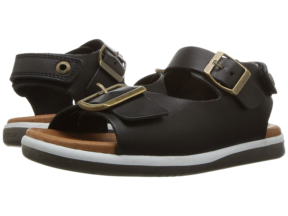 Bobux Kids - Kid+ Classic Soul (Toddler/Little Kid) (Black) Boy's Shoes