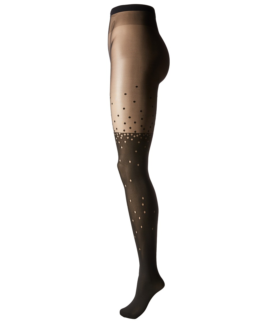 Wolford - Mica Tights (Black/Black) Hose