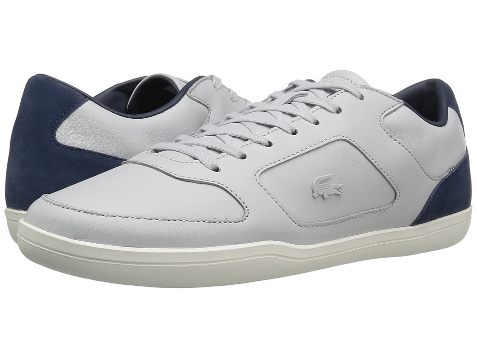 Lacoste - Court-Minimal 117 1 Cam (Light Grey) Men's Shoes