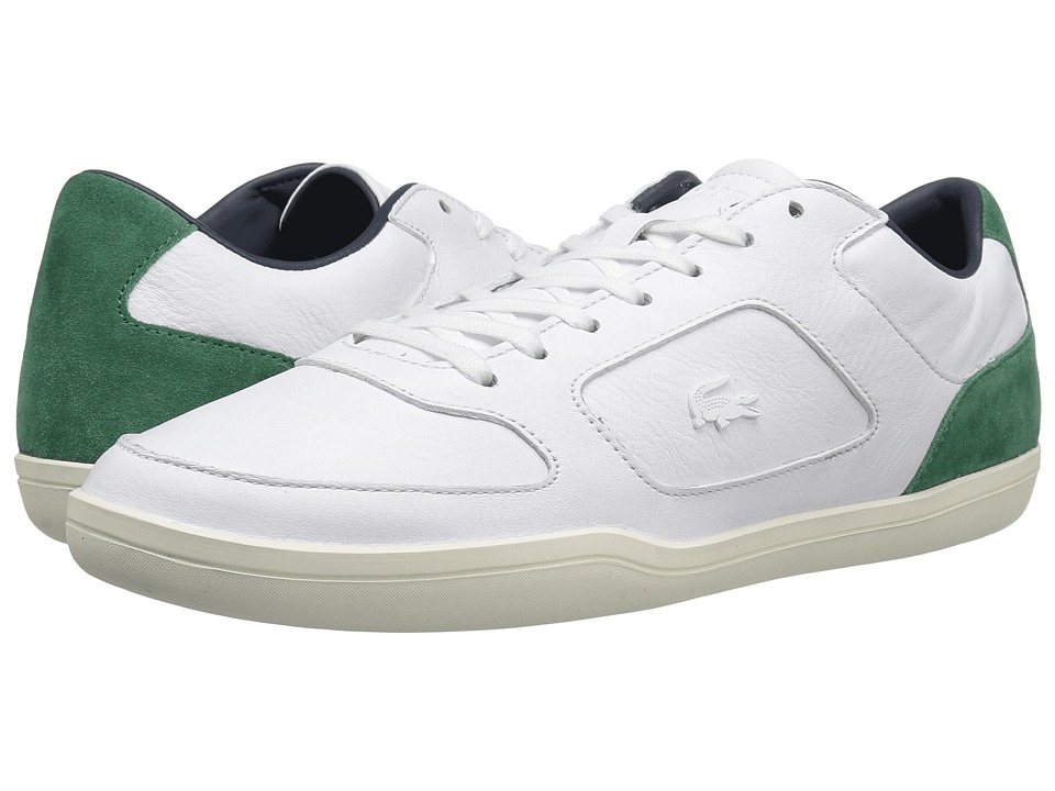 Lacoste - Court-Minimal 117 1 Cam (White) Men's Shoes