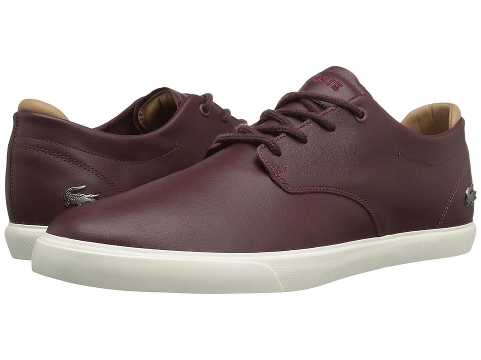 Lacoste - Espere 117 1 Cam (Dark Brown) Men's Shoes