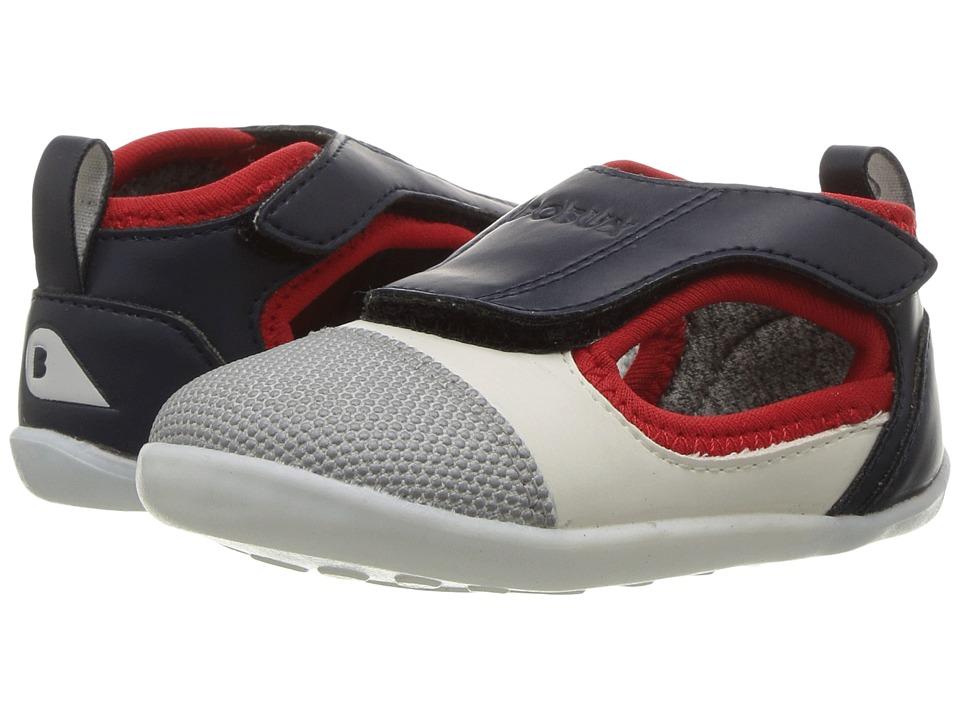 Bobux Kids - Step Up Street Spark (Infant/Toddler) (Navy/Red/White) Boy's Shoes