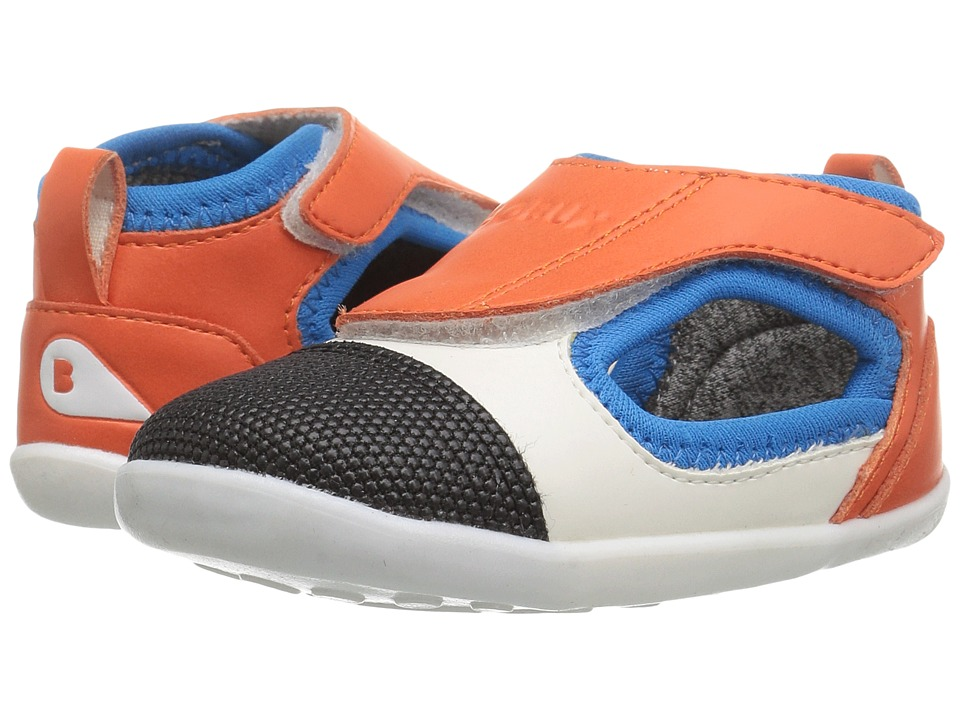 Bobux Kids - Step Up Street Spark (Infant/Toddler) (Flame/Hawaiian Ocean) Boy's Shoes