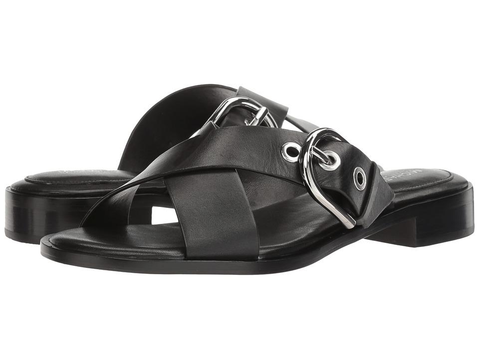 MICHAEL Michael Kors - Cooper Sandal (Black Vachetta/Nappa) Women's Sandals