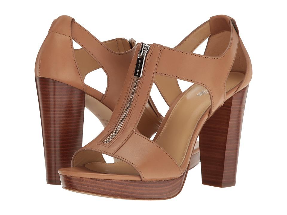 MICHAEL Michael Kors - Berkley Sandal (Cashew Vachetta) Women's Dress Sandals