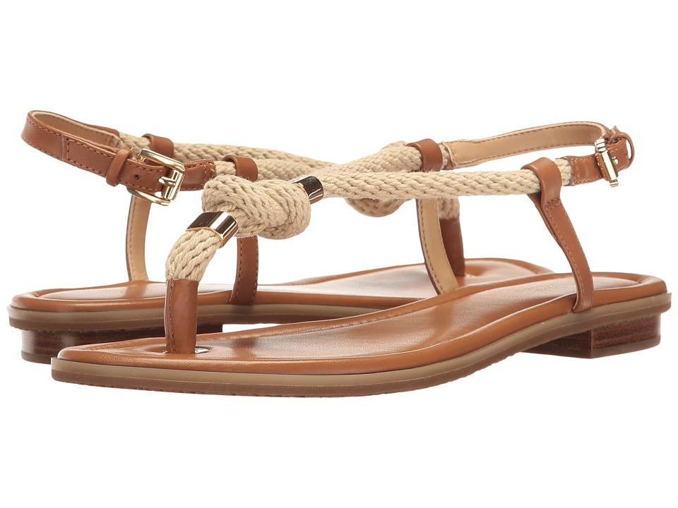 MICHAEL Michael Kors - Holly Sandal (Acorn Rope/Vachetta) Women's Sandals