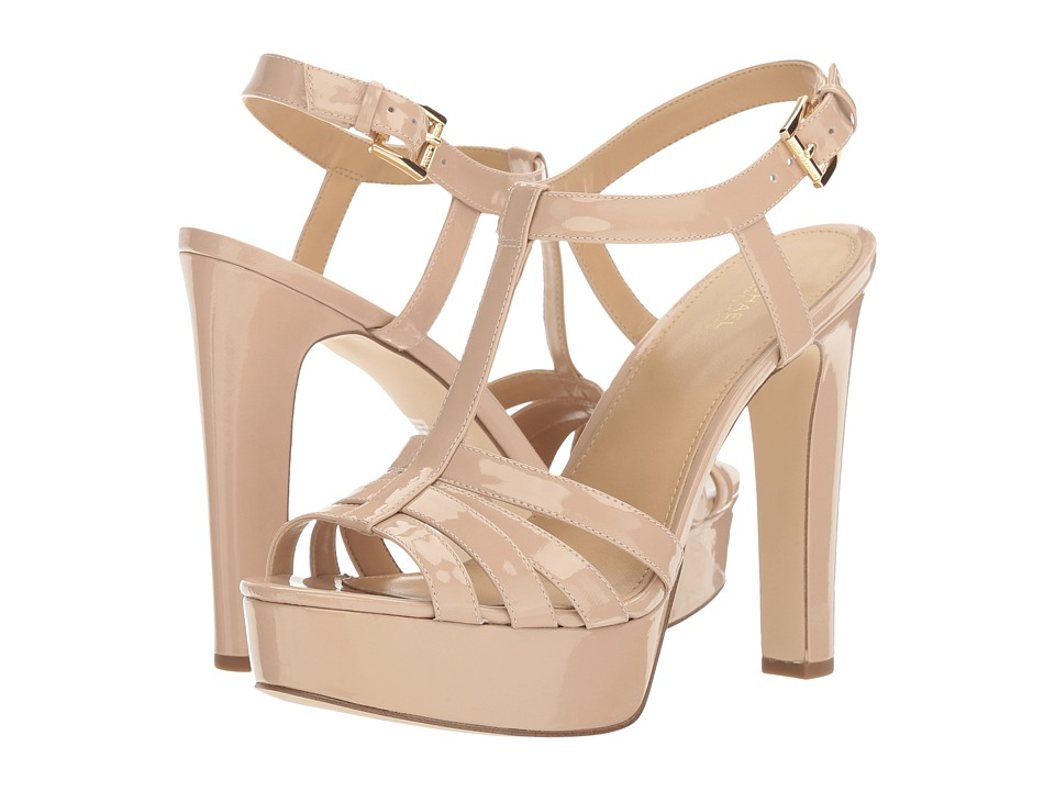 MICHAEL Michael Kors Catalina Sandal Light Blush Patent Sandals