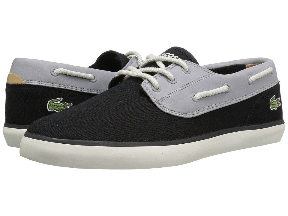 Lacoste - Jouer Deck 117 1 Cam (Black) Men's Shoes