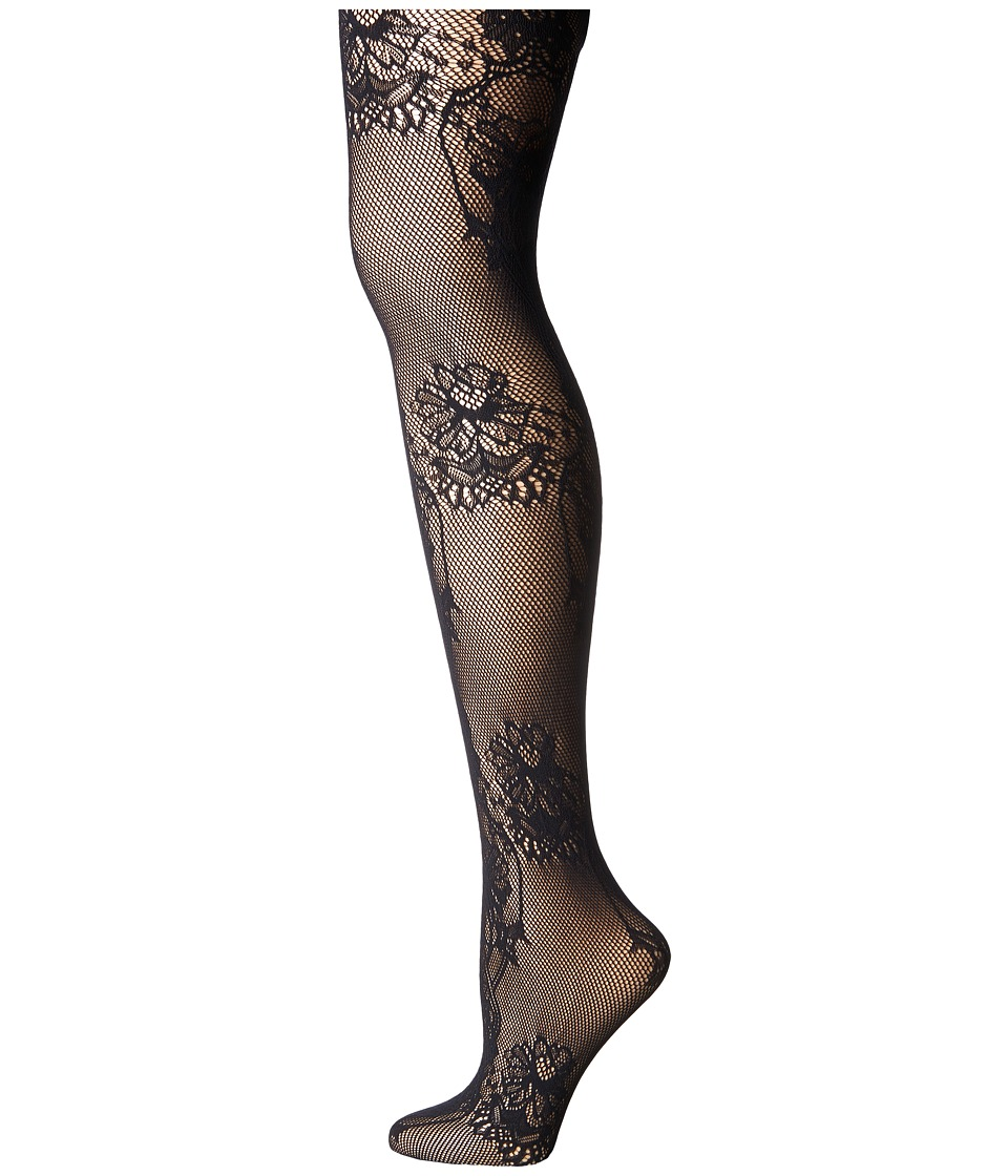 Wolford - Net Lace Tights (Black) Hose