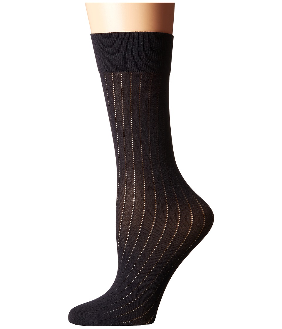 Wolford - Romie Knee Highs (Black) Knee high Hose