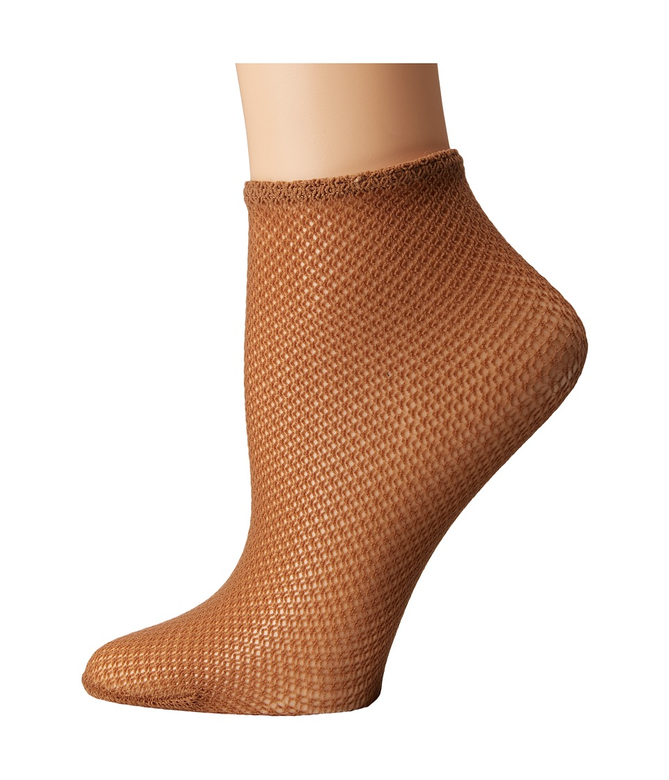Wolford - Ina Socks (Honey) Women's No Show Socks Shoes