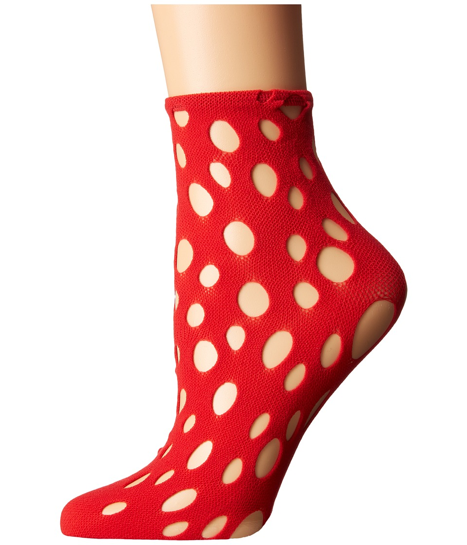 Wolford - Patti Socks (Lipstick) Women's No Show Socks Shoes