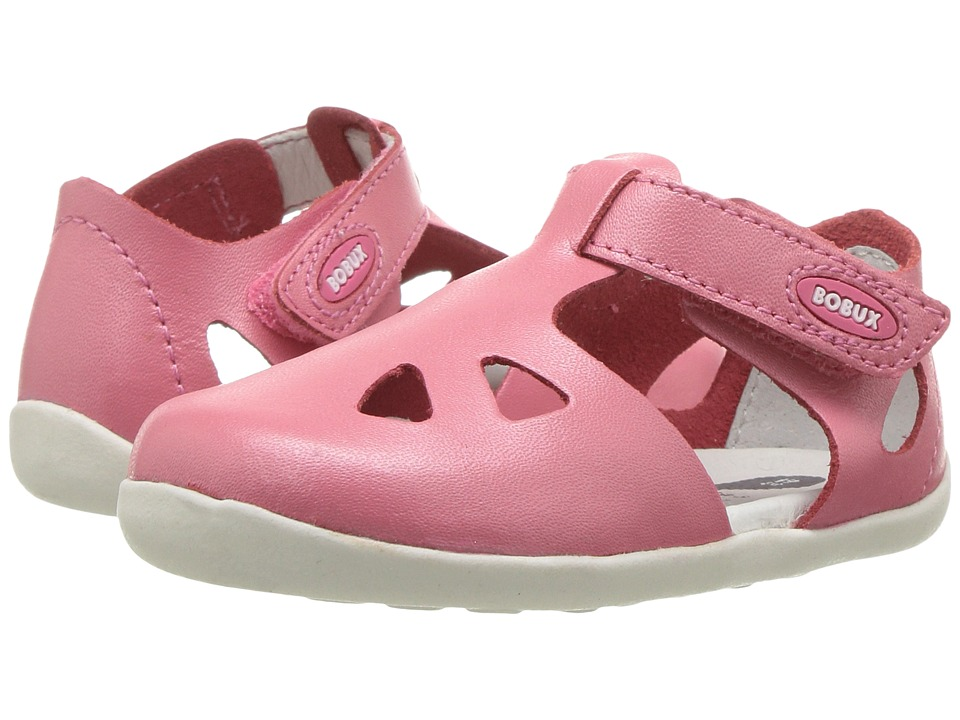 Bobux Kids - Step-Up Classic Zap (Infant/Toddler) (Coral) Girl's Shoes