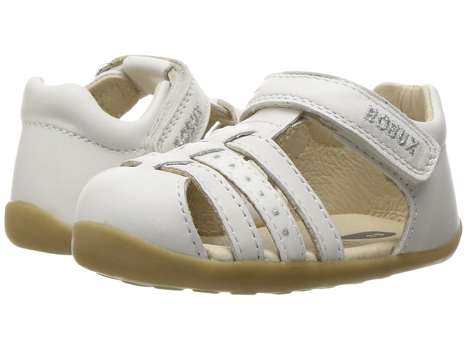 Bobux Kids - Step-Up Classic Jump (Infant/Toddler) (White 1) Girl's Shoes