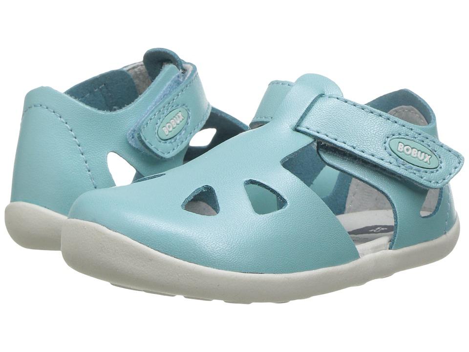 Bobux Kids - Step-Up Classic Zap (Infant/Toddler) (Aqua) Girl's Shoes