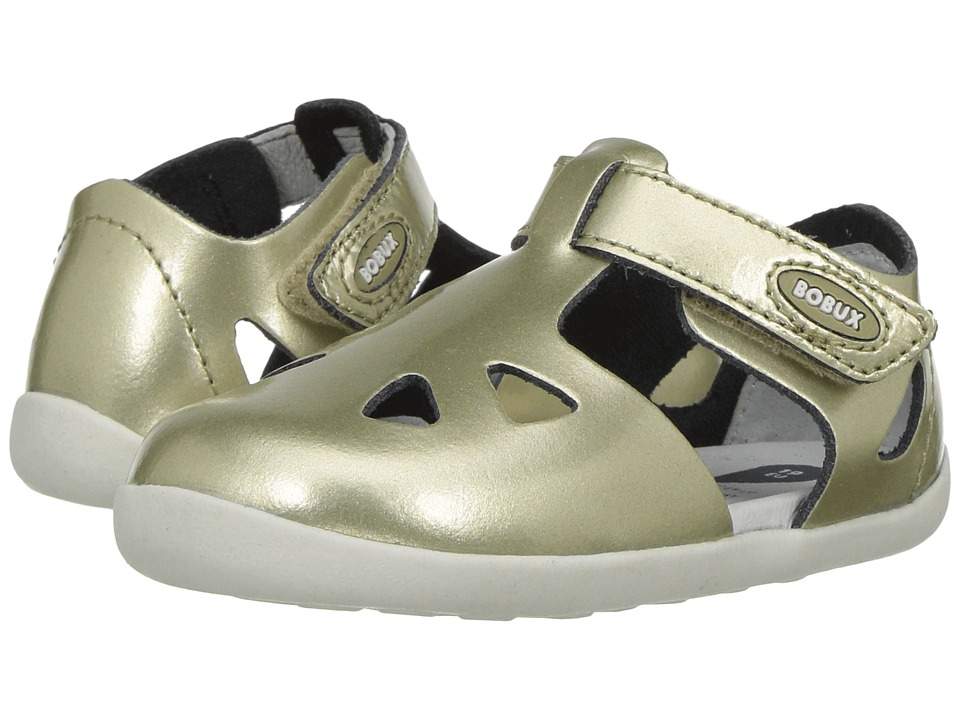 Bobux Kids - Step-Up Classic Zap (Infant/Toddler) (Molten Gold) Girl's Shoes