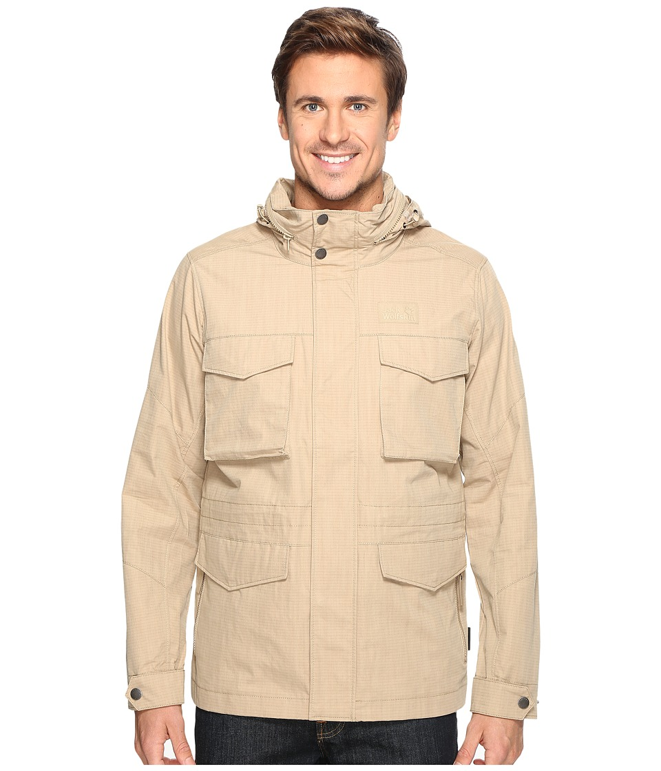 Jack Wolfskin - Freemont Field Jacket (Sand Dune) Men's Coat