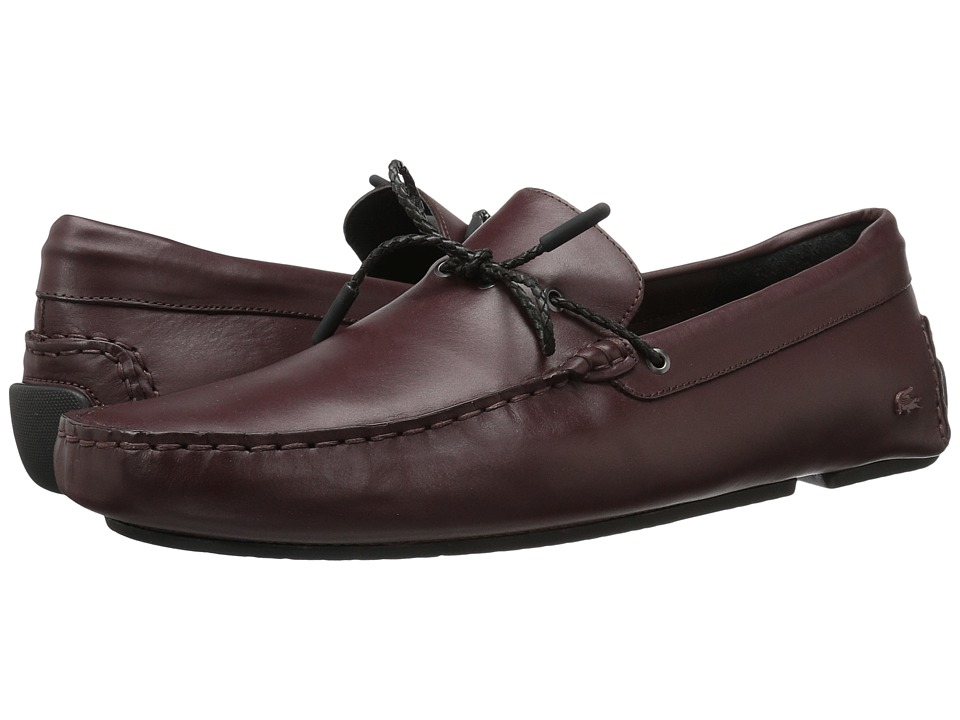 Lacoste - Piloter Corde 117 1 Cam (Dark Brown) Men's Shoes