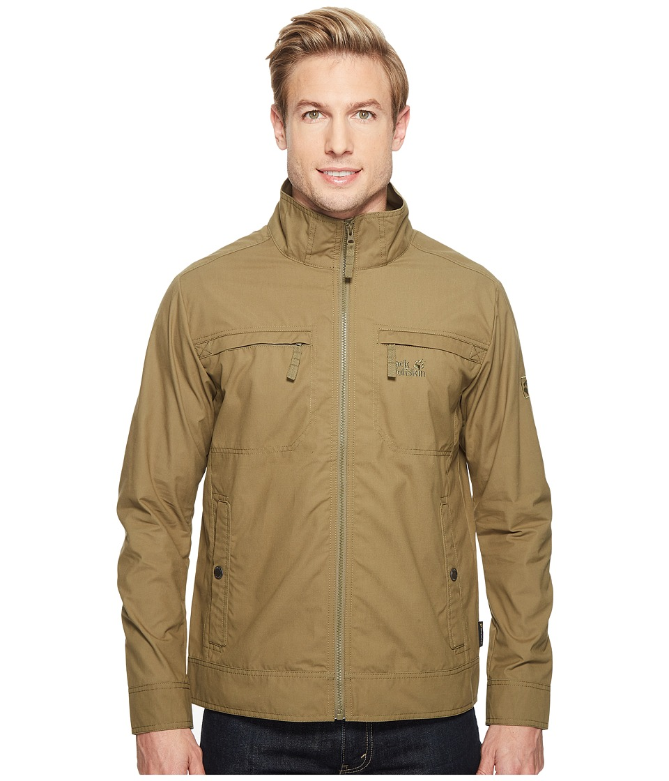 Jack Wolfskin - Camio Road Jacket (Burnt Olive) Men's Coat