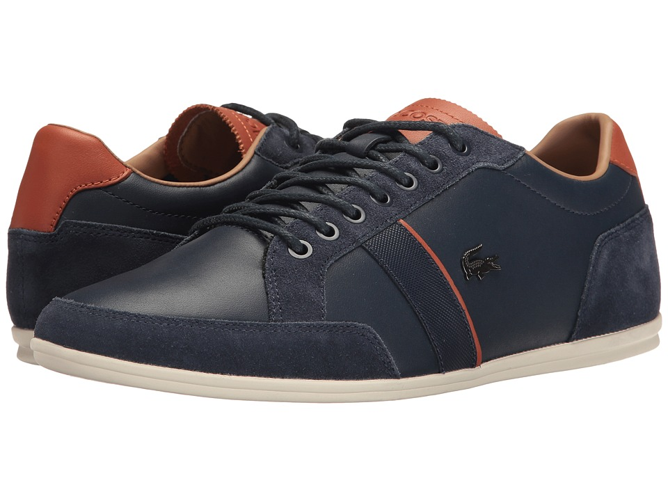 Lacoste - Alisos 117 1 Cam (Navy) Men's Shoes