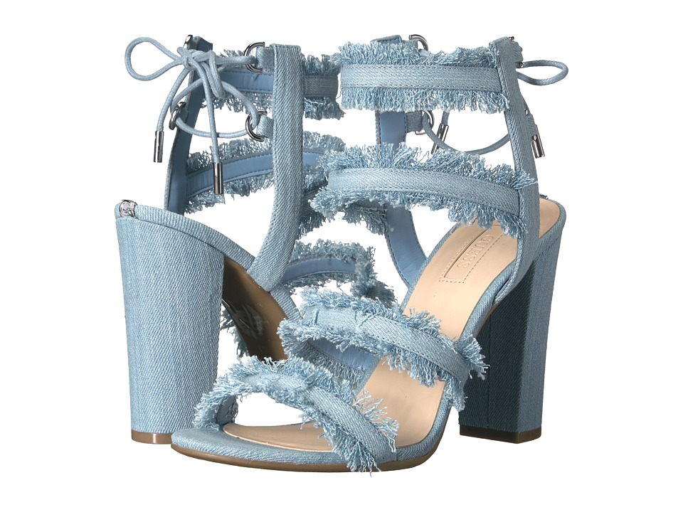 GUESS - Evira (Denim Blue/Denim Blue) Women's Sandals