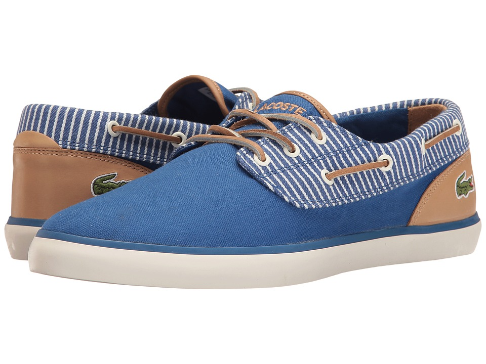 Lacoste - Jouer Deck 117 2 Cam (Blue) Men's Shoes