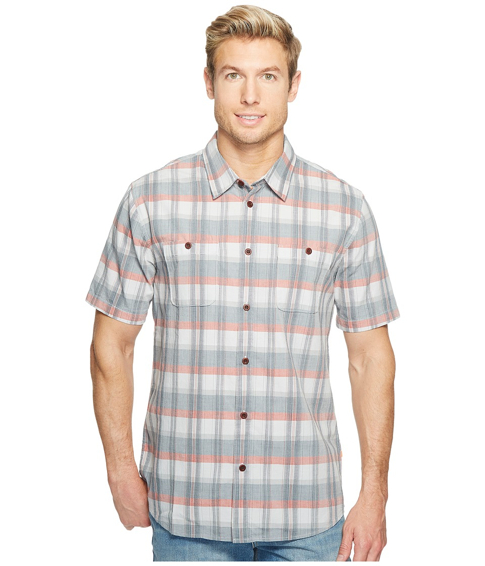 Quiksilver Waterman - Ample Time Woven Top (Glacier Ample Time) Men's Clothing