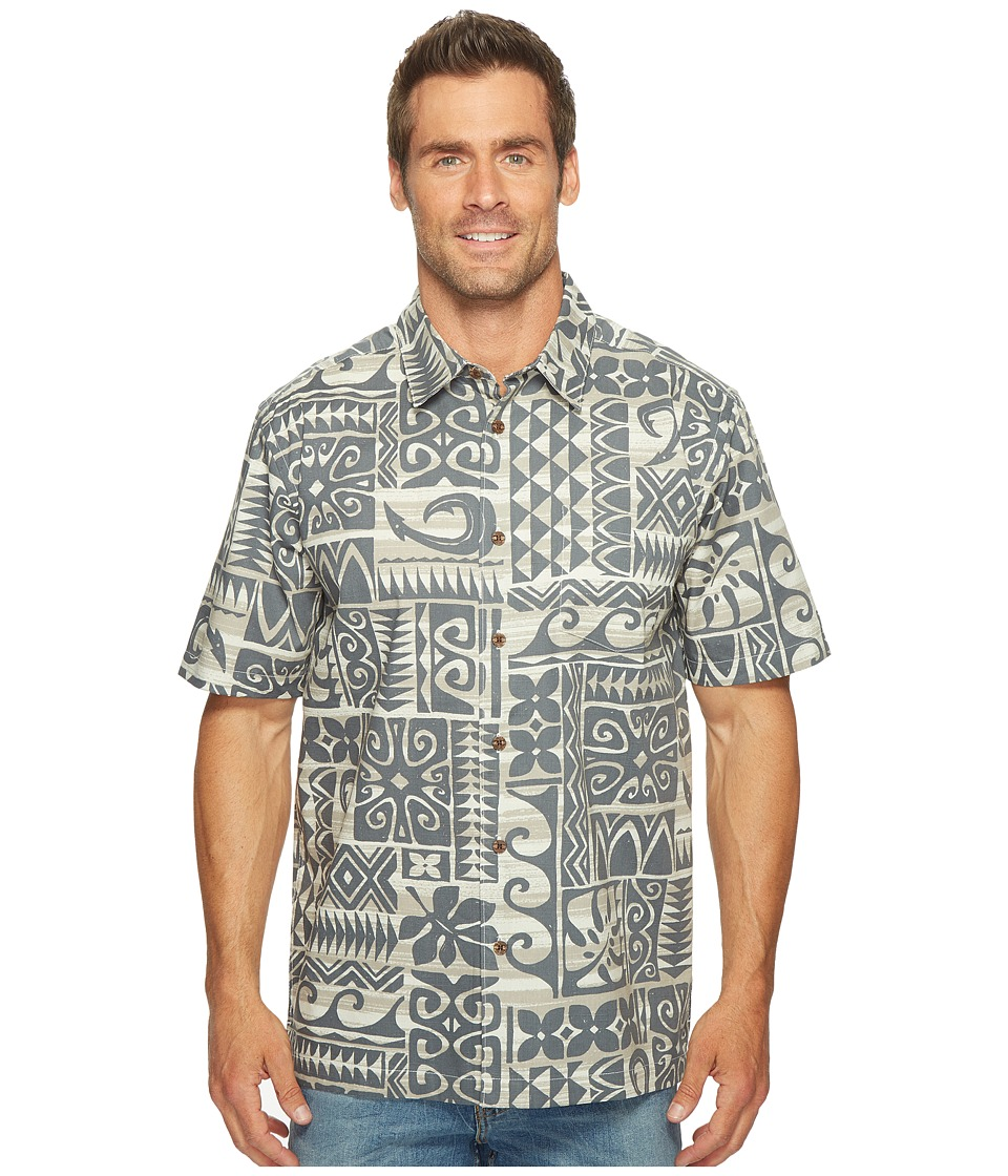 Quiksilver Waterman - Cooks Woven Top (Glacier) Men's Clothing