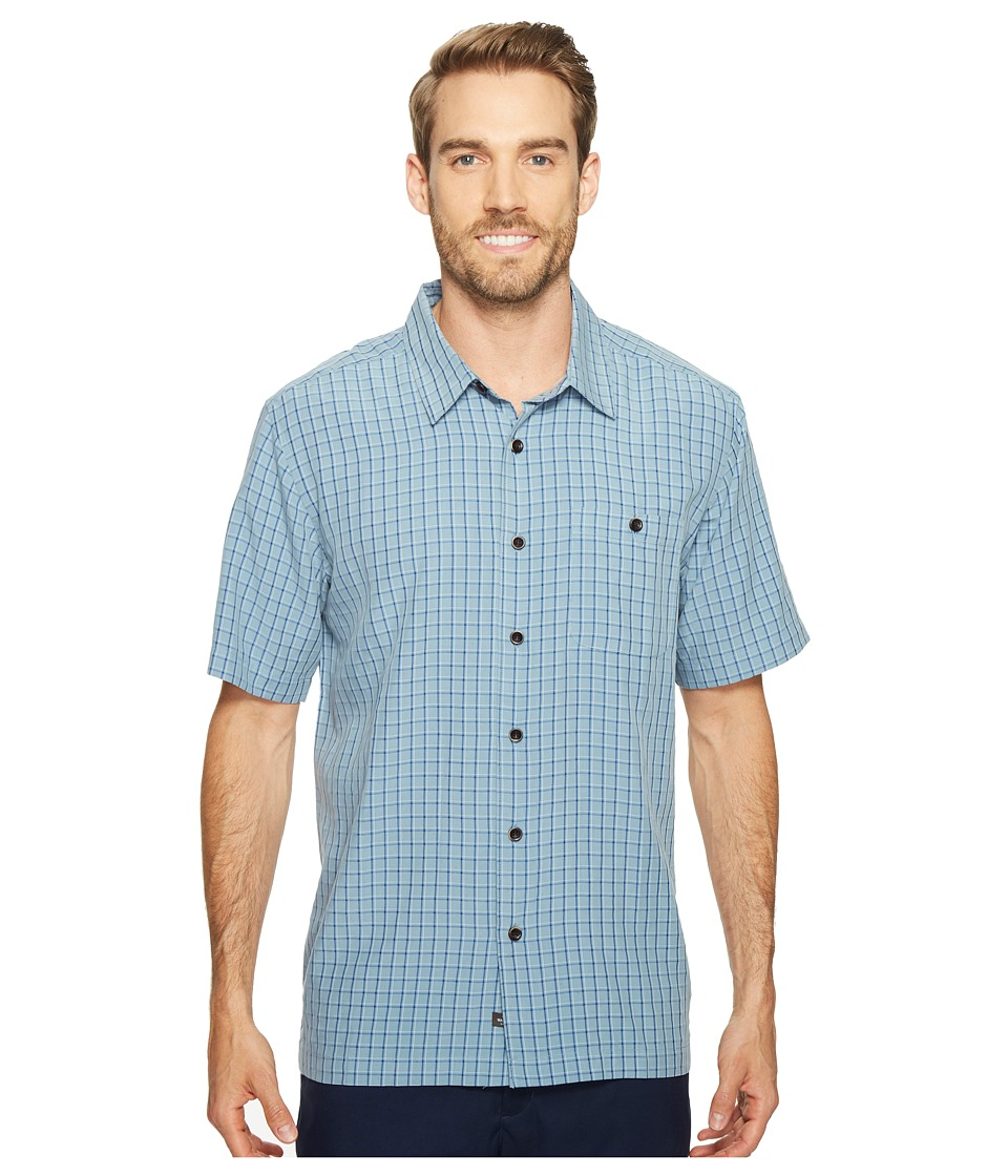 Quiksilver Waterman - Outboard Woven Top (Provencial Outboard) Men's Clothing