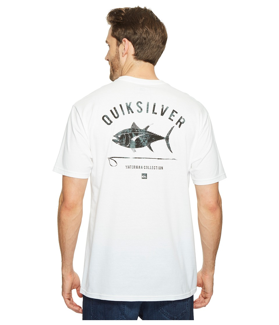 Quiksilver Waterman - Big Eye Tee (White) Men's T Shirt