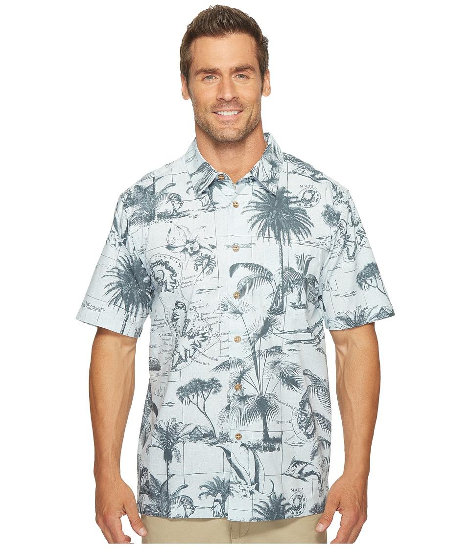 Quiksilver Waterman - Tahutu Woven Top (Plein Air) Men's Clothing